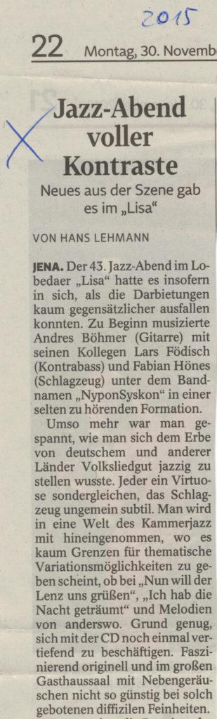 LISA Jena 27.11.2015 2